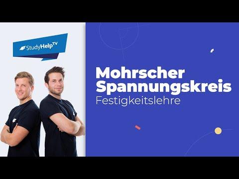 Mohrscher Spannungskreis - Hauptspannungen - Technische Mechanik 2