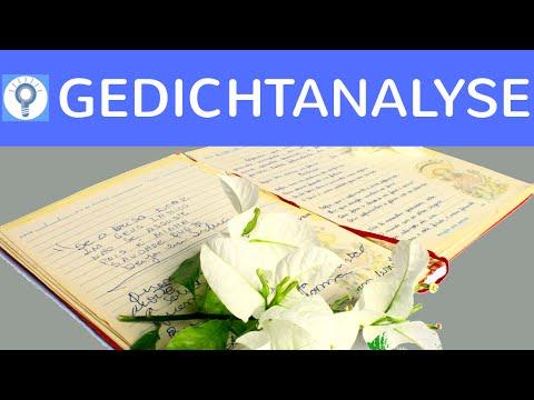 Wie schreibe ich eine Gedichtanalyse / Gedichtinterpretation? - Linear & Aspektorientiert 1