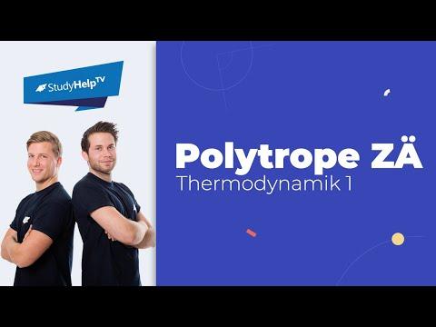 Wärme und Arbeit bei polytropen Zustandsänderungen