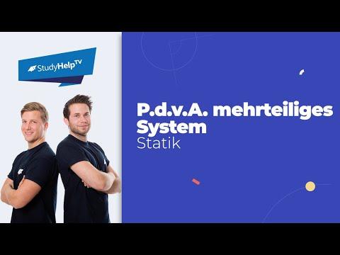 Virtuelle Arbeit - mehrteiliges System - Technische Mechanik 1