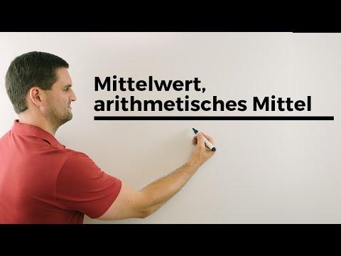 Mittelwert, arithmetisches Mittel, Urliste, Rangliste, Statistik | Mathe by Daniel Jung