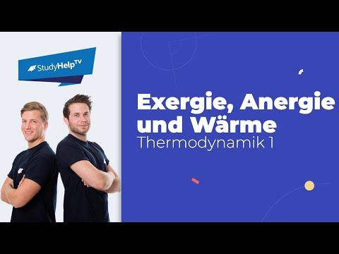 Exergie, Anergie und Wärme - Thermodynamik
