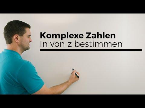 Komplexe Zahlen, ln von z bestimmen, Mathehilfe online, Erklärvideo | Mathe by Daniel Jung