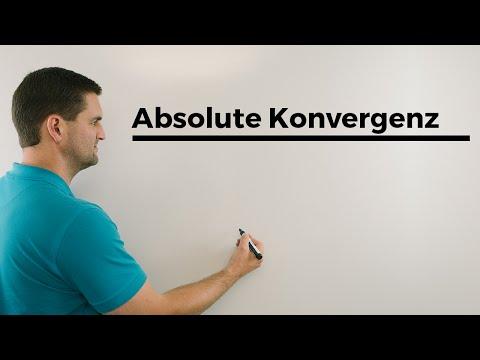 Absolute Konvergenz, normale Konvergenz, Folgen und Reihen, Unimathematik | Mathe by Daniel Jung