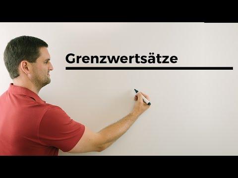 Grenzwertsätze, Folgen, Mathehilfe online, Erklärvideo | Mathe by Daniel Jung