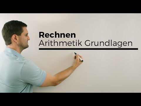 Rechnen (Arithmetik), Grundlagen Teil 2, Potenzgesetze, Wurzel, Bruch, Basics   Mathe by Daniel Jung
