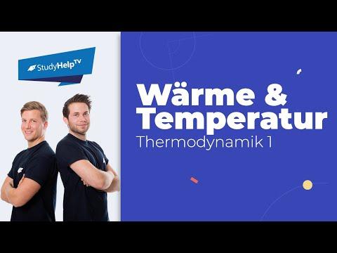 Der Unterschied von Wärme und Temperatur - Thermodynamik