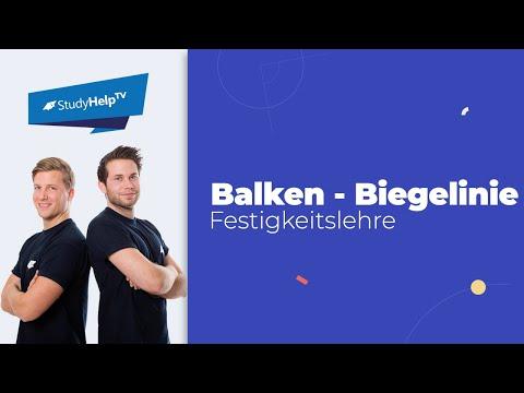 Balken - Biegelinie - Technische Mechanik 2