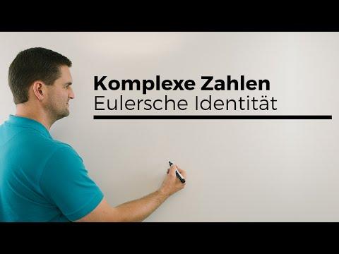 Komplexe Zahlen, Eulersche Identität, Polarform, Mathehilfe online | Mathe by Daniel Jung