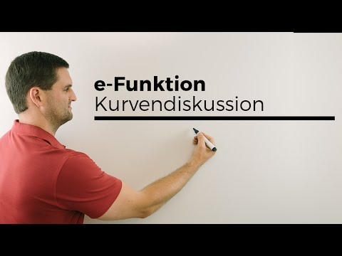 e-Funktion, Kurvendiskussion, Übersicht 1, Mathe online | Mathe by Daniel Jung