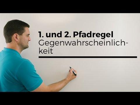 1. und 2. Pfadregel, Gegenwahrscheinlichkeit, Stochastik, Wahrscheinlichkeit, Baumdiagramm