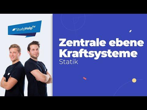 Zentrale ebene Kraftsysteme - Einführung - Technische Mechanik