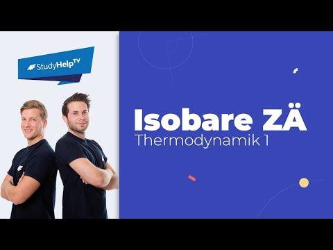 Isobare Zustandsänderung - Thermodynamik