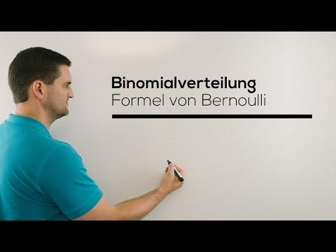 Binomialverteilung, Formel von Bernoulli, Stochastik, Bernoulli-Formel | Mathe by Daniel Jung