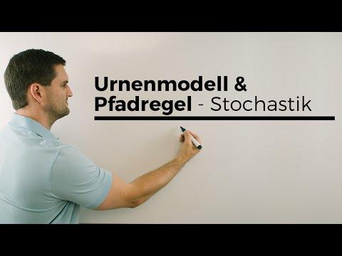 Urnenmodelle und Pfadregeln in der Stochastik, Wahrscheinlichkeit | Mathe by Daniel Jung
