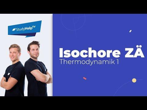 Isochore Zustandsänderung - Thermodynamik