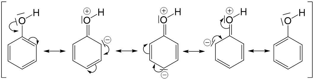 Phenole Reaktion