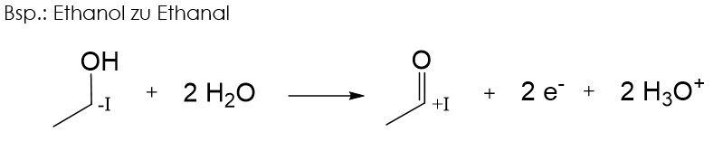 ethanol zu ethanal