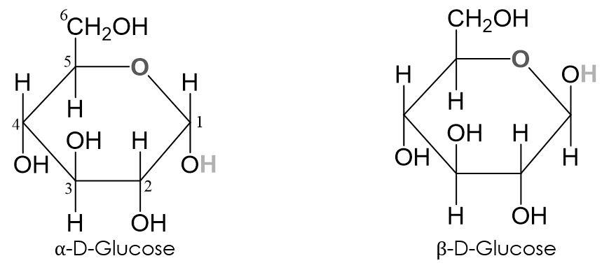 α-D-Glucose-β-D-Glucose