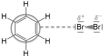 Benzol und Brom