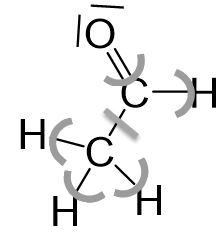 Ethanol Bindungselektronen Beispiel