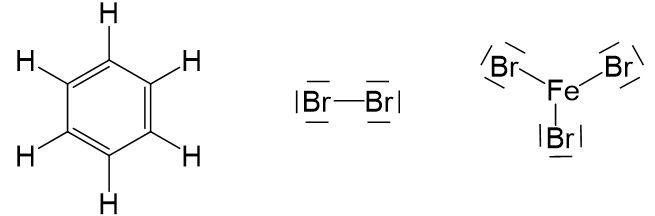 Heterolytische Spaltung Brommolekül