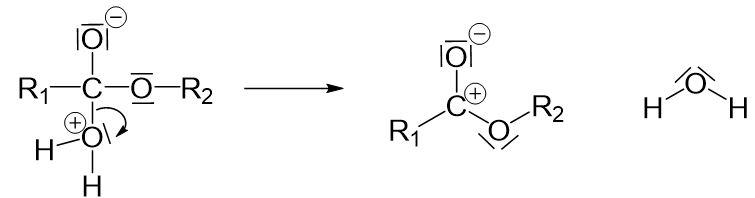 Protonwanderung Nucleophile Substitution Doppelbindung auflösen