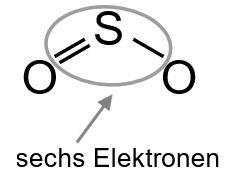 Freie Elektronenpaare zuordnen Schwefel 3