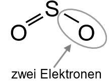 Freie Elektronenpaare zuordnen Schwefel 4