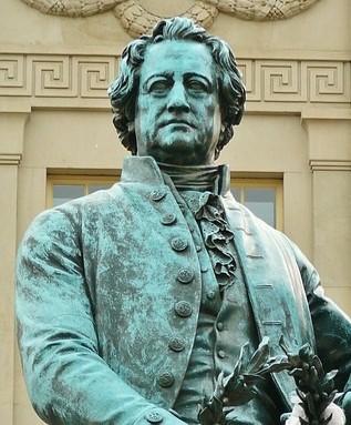 Goethe Statue
